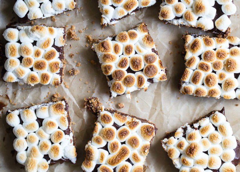 Oven-Bake S'mores Bar