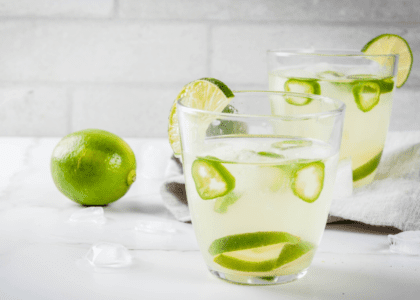Fresh Lime & Jalapeño Margarita
