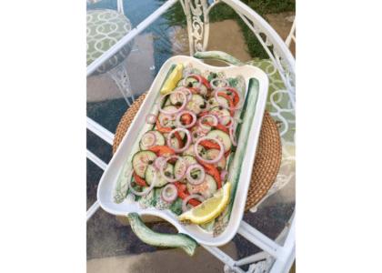 Super Simple Side Salad!