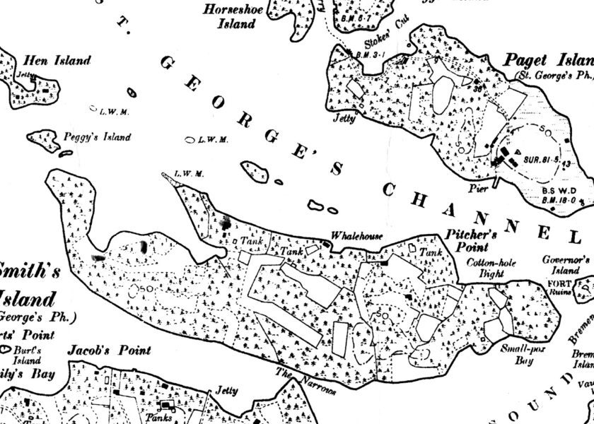 The History of Smith's Island, Bermuda's First Colony