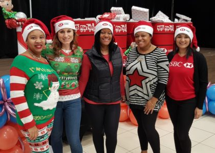 HSBC and The Coalition for the Protection of Children Deliver Toys to Young People in Need