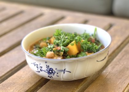 West African Chickpea Stew