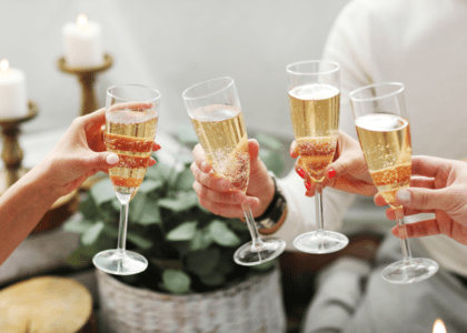 4 Champagne Cocktails for New Year's Eve