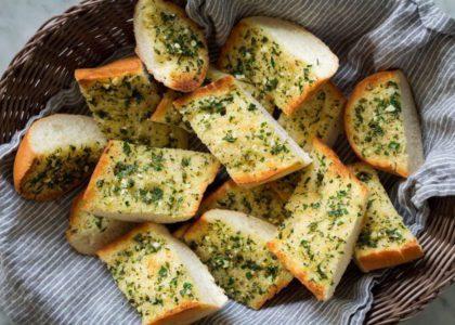 Easy Homemade Garlic Bread
