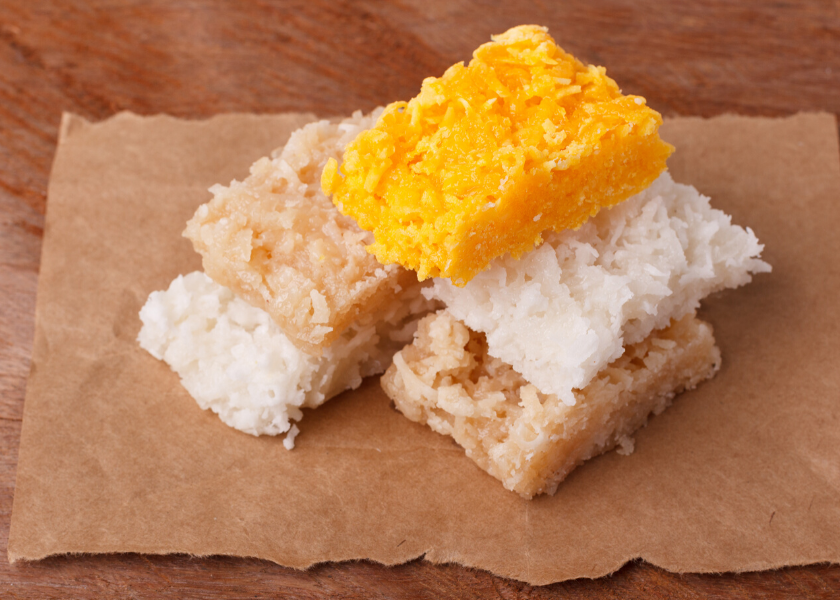 Old-Time Coconut Cakes