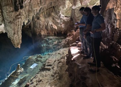 Cave Research Aided by a Robotic Helper: A donated remotely operated vehicle will further research on marine organisms