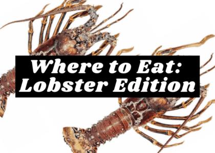 5 Local Restaurants Serving Bermuda Lobster