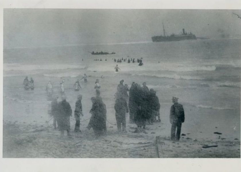 The True Story of The 1915 Pollockshields Shipwreck