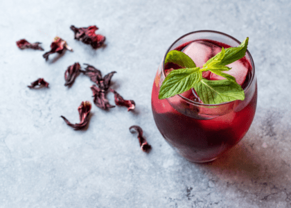 Hibiscus Flower Moscow Mule