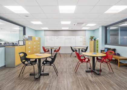 Commercial Interior Design Honourable Mention: Bermuda Centre for Creative Learning