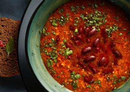 Portuguese Red Bean Soup