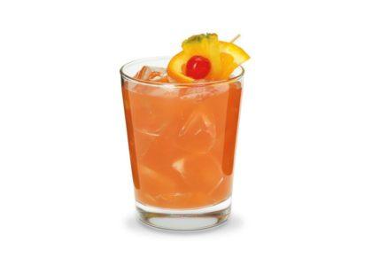Traditional Bermuda Rum Swizzle