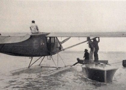 The Very First Flight From New York to Bermuda