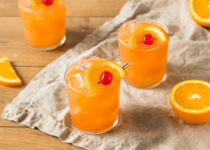Traditional Rum Swizzle
