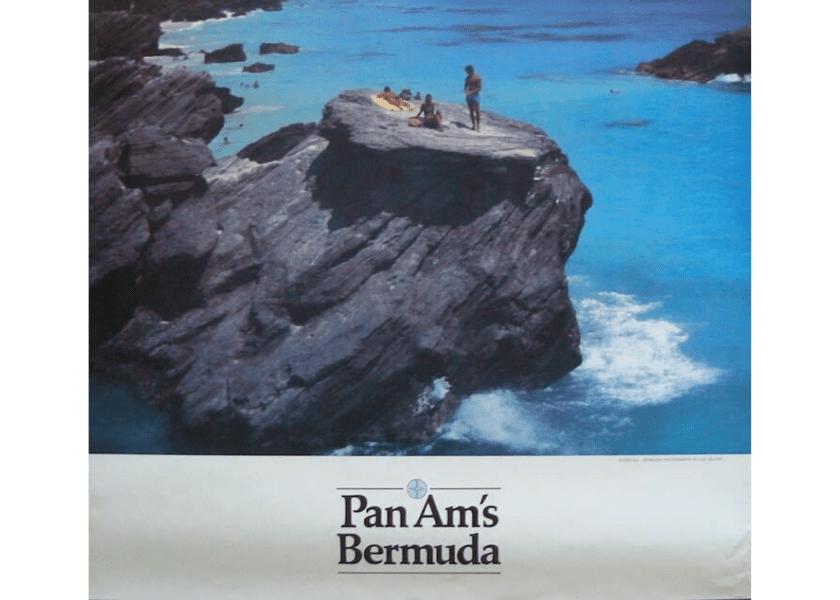 Vintage Pan Am Bermuda Posters