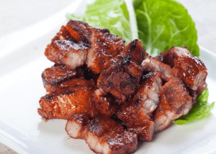 BBQ Pork Belly Sandwiches