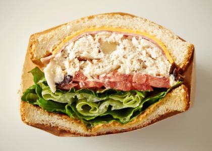 Lightened Up Tuna Fish Sandwich