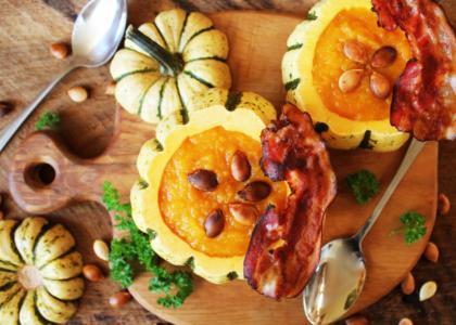 Bermuda Pumpkin and Stilton Soup