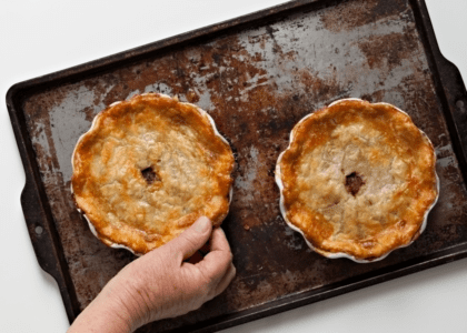 Curried Mussel Pie