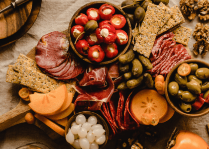 Ultimate Thanksgiving Cheese Board