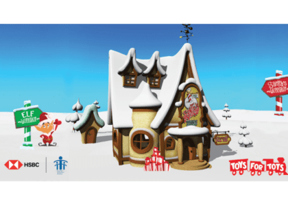 HSBC and CPC Team Up to Deliver Toys for Tots this Holiday Season