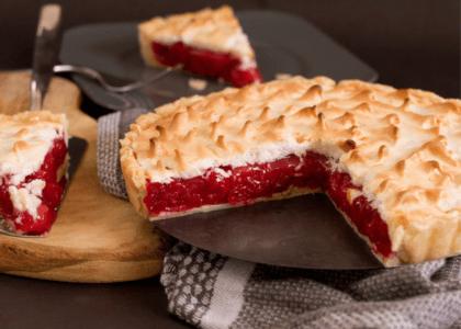Bermuda Cherry Meringue Pie