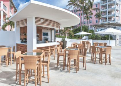 Commercial Building Design Runner-Up: Hamilton Princess Marina Bar