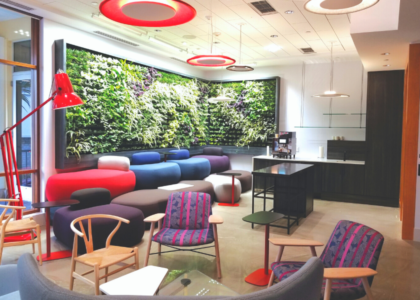 Commercial Interior Design Honourable Mention: Hiscox Re
